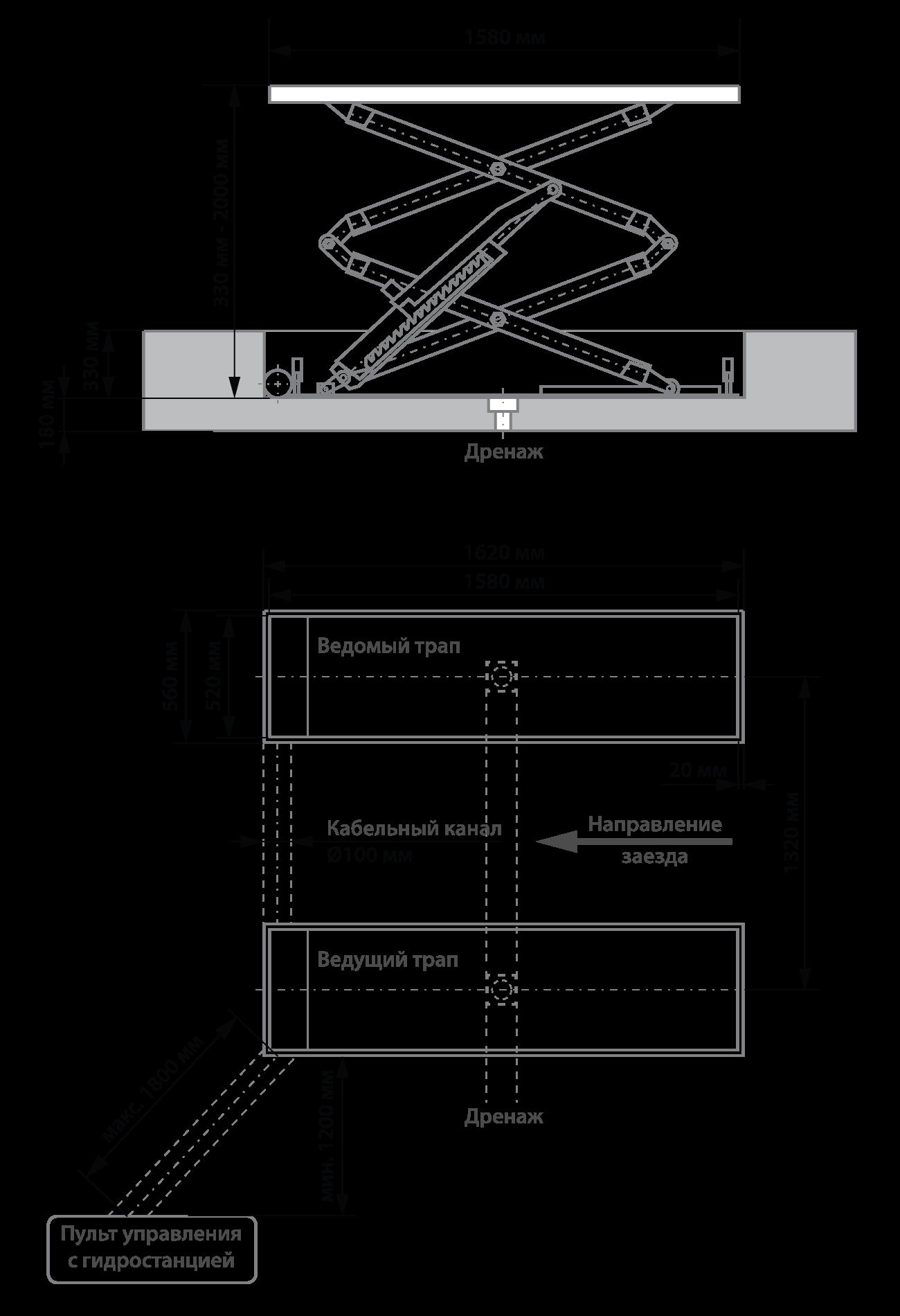 TLT632A-фундамент