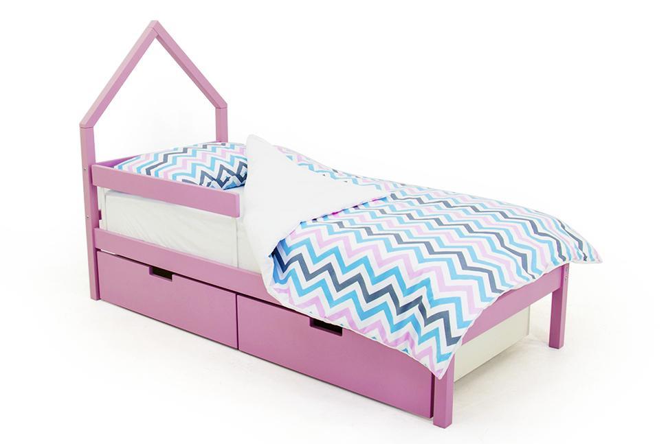 детская кровать лаванда