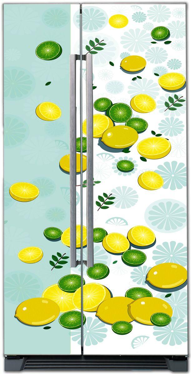 Fridge Skin - Lime Lemon by X-Decor