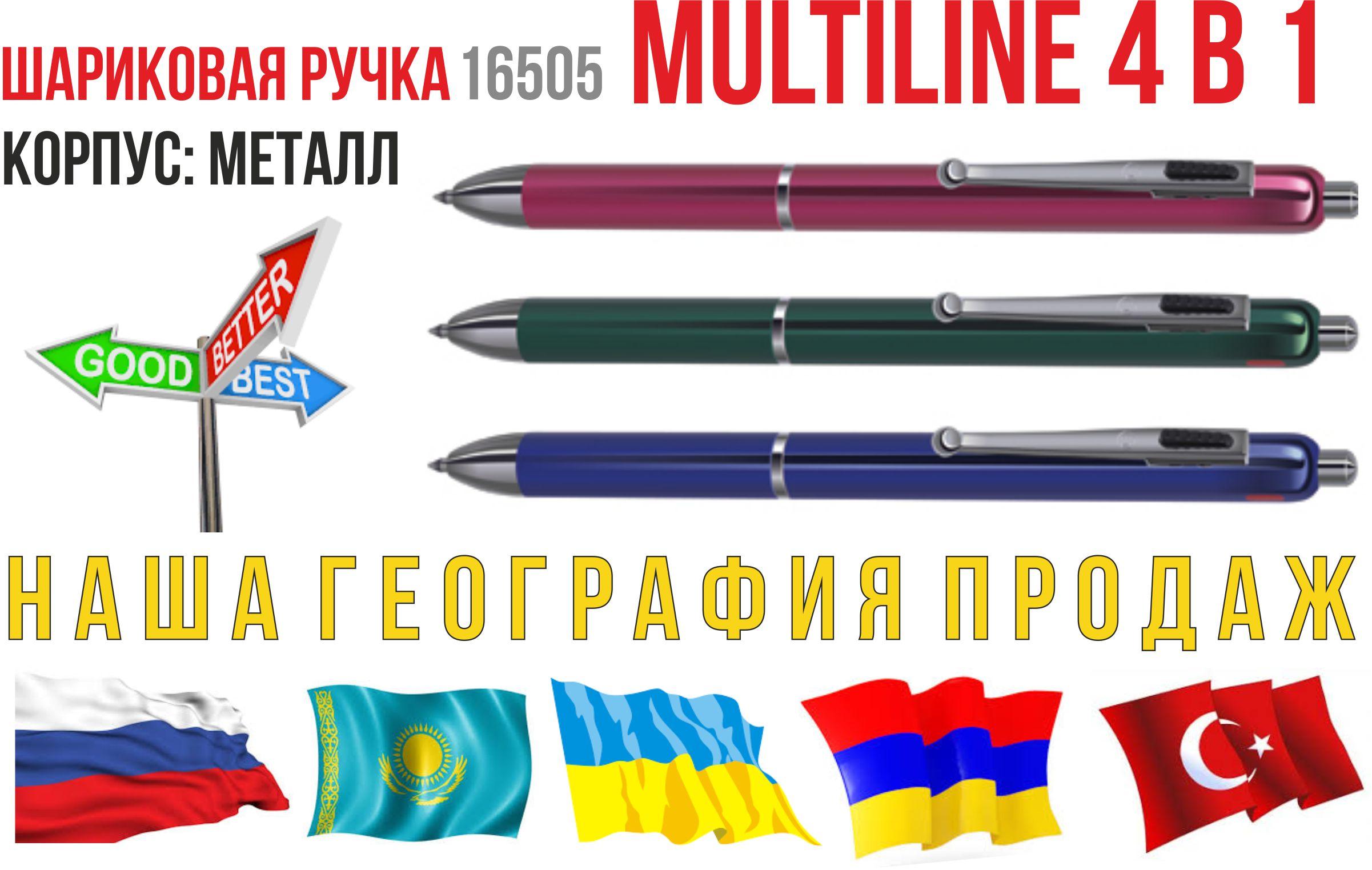 металлические ручки Multiline