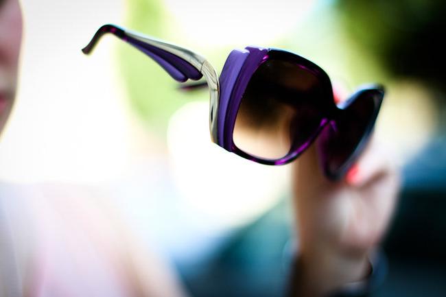 очки женские солнечные