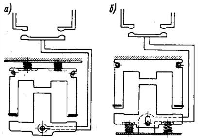 Схема амортизации магнитной системы