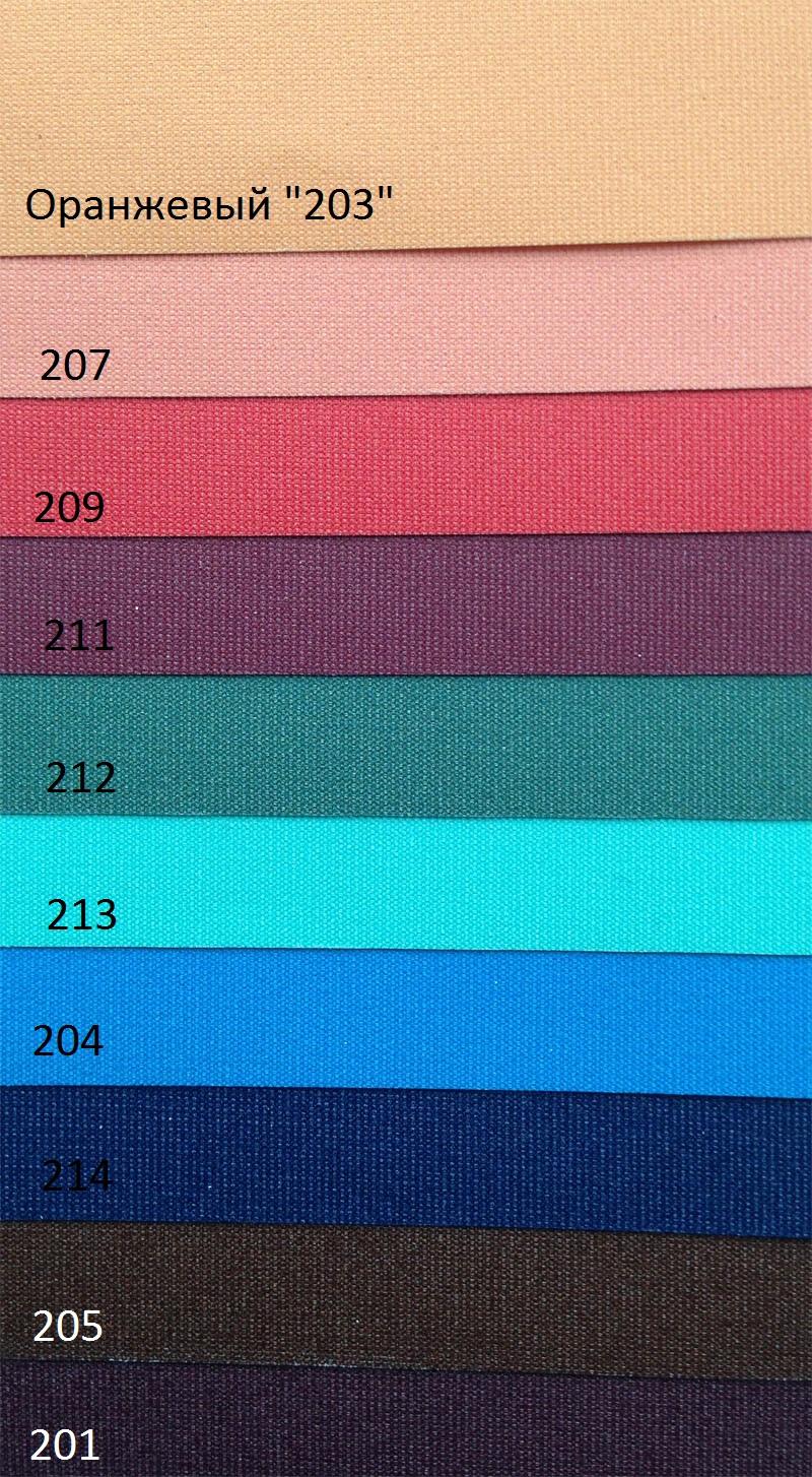 палитра цветных потолков deskor