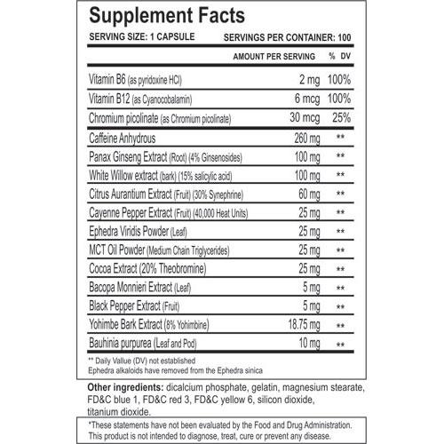 Methyldrene Elite 25 - Cloma Pharma