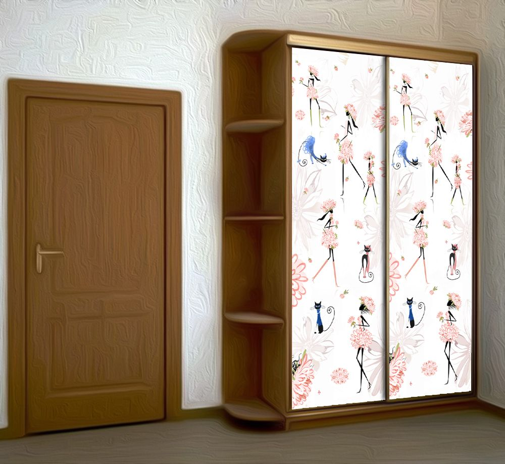 Wardrobe Stickers - Samba by X-Decor
