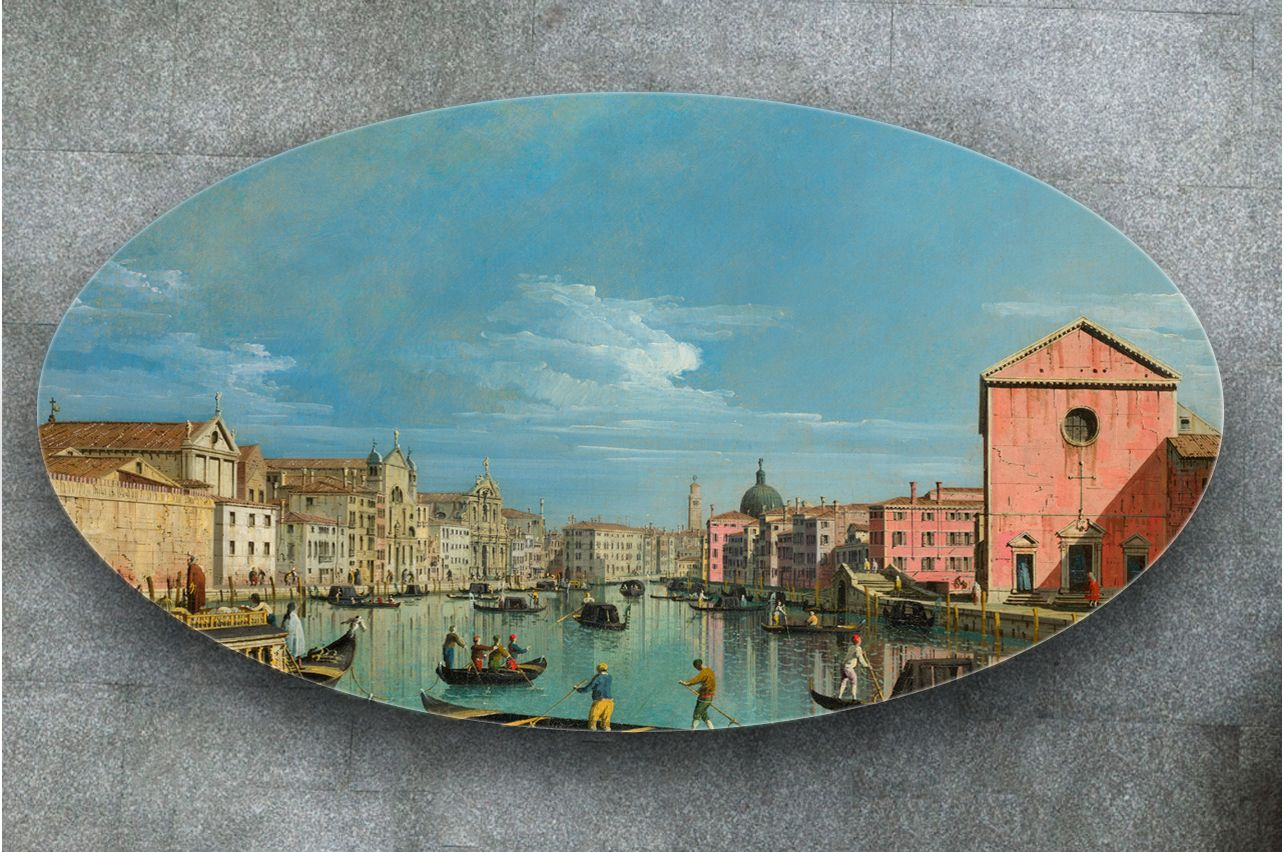 Stickers a Table - The Grand Canal |Buy Table Decals in x-decor.com