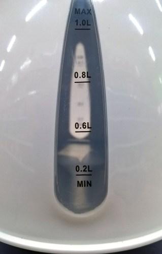 Автомобильный электрочайник New Galaxy 1 литр - индикатор уровня воды