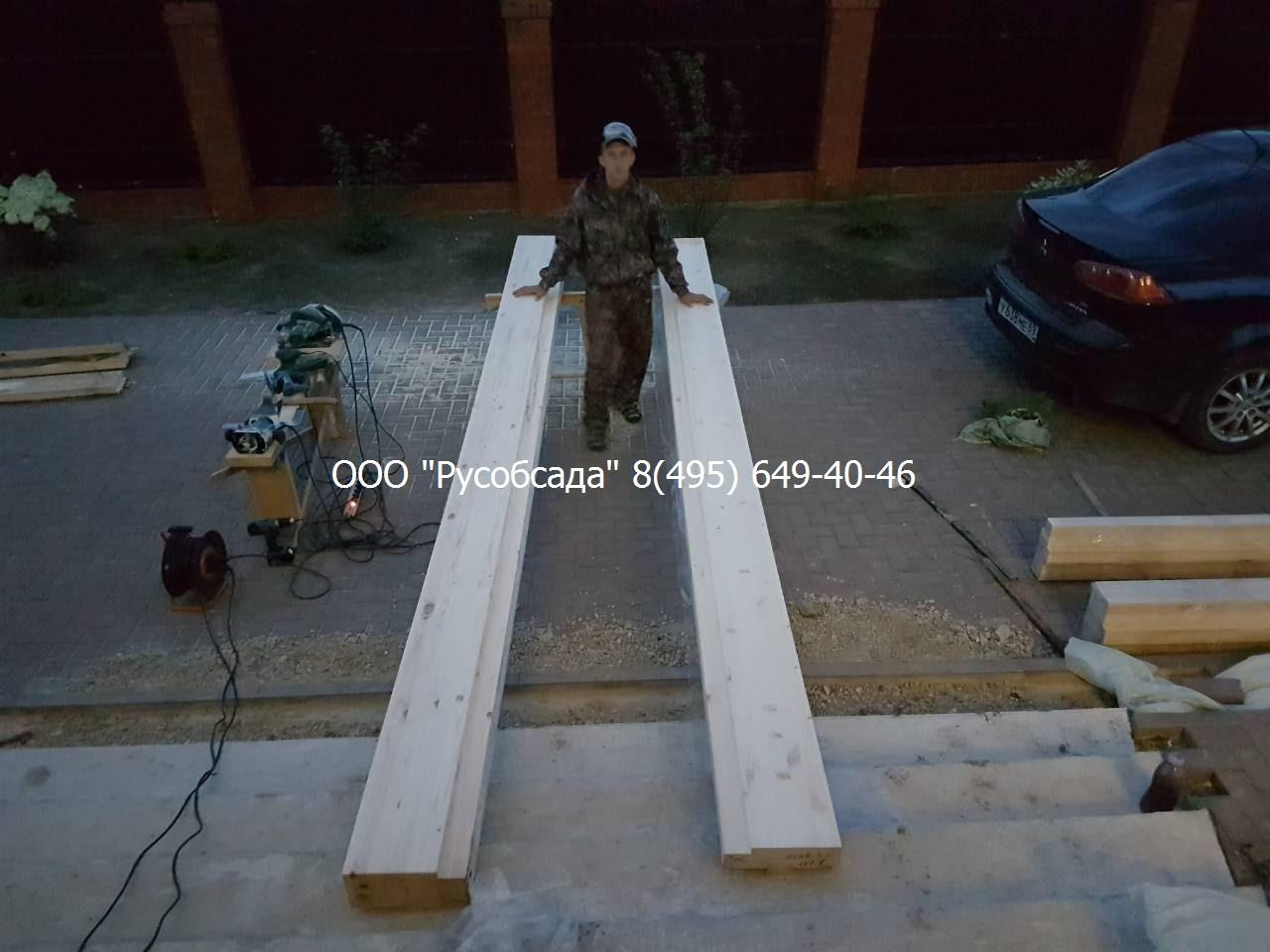 Русобсада изготовление силовой обсады 140 мм
