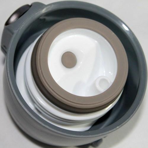 Термостакан Metal ZR-9 с поилкой 450 мл - пробка с силиконовым уплотнителем