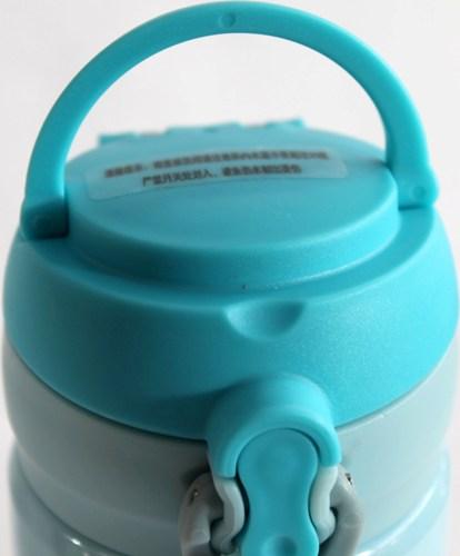 Термос питьевой Hello Winter с поилкой - ручка для переноски