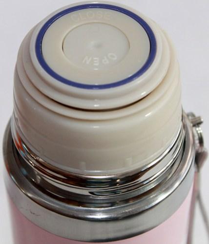 Термос Animals 500 мл со шнурком - пробка с кнопкой