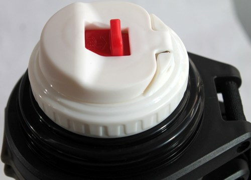 Термос Steel Drink для напитков - пробка с кнопкой
