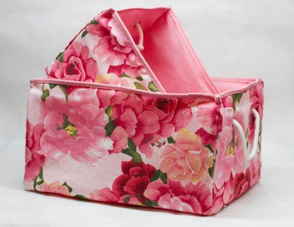 коробки без крышек из текстиля оптом