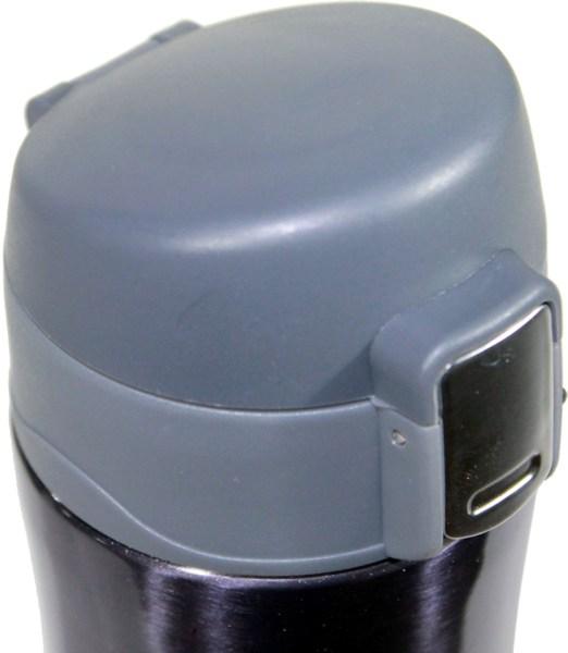 Термостакан Metal ZR-9 с поилкой 450 мл - крышка с кнопкой