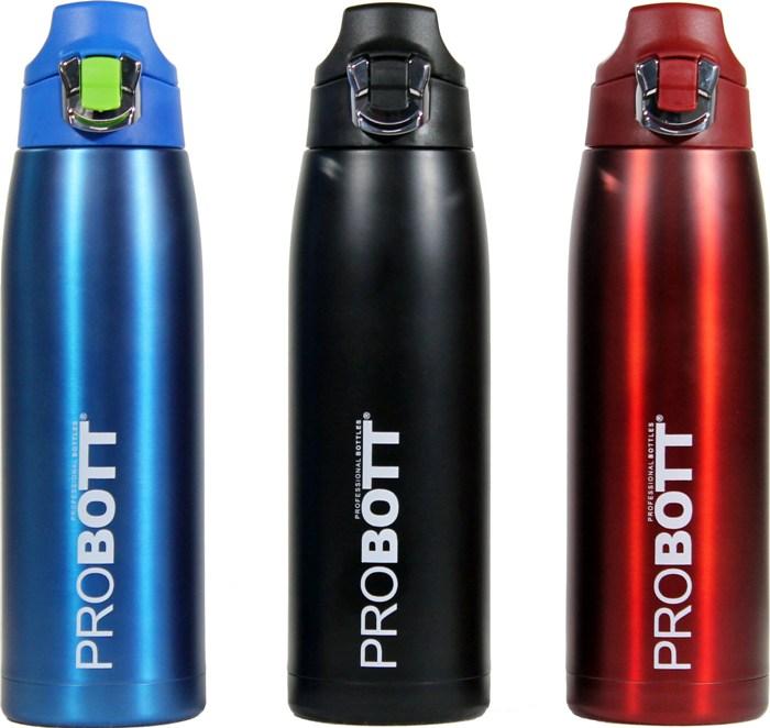 Термос-бутылка PROBOTT для напитков 750 мл - доступные цвета