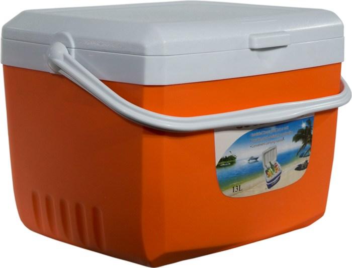 Изотермический контейнер Cooler Box для продуктов 13 литров - удобная форма