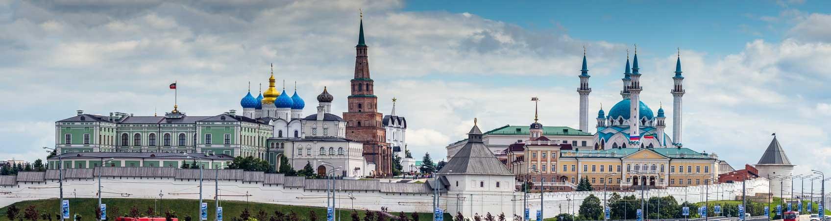 Казань - панорама