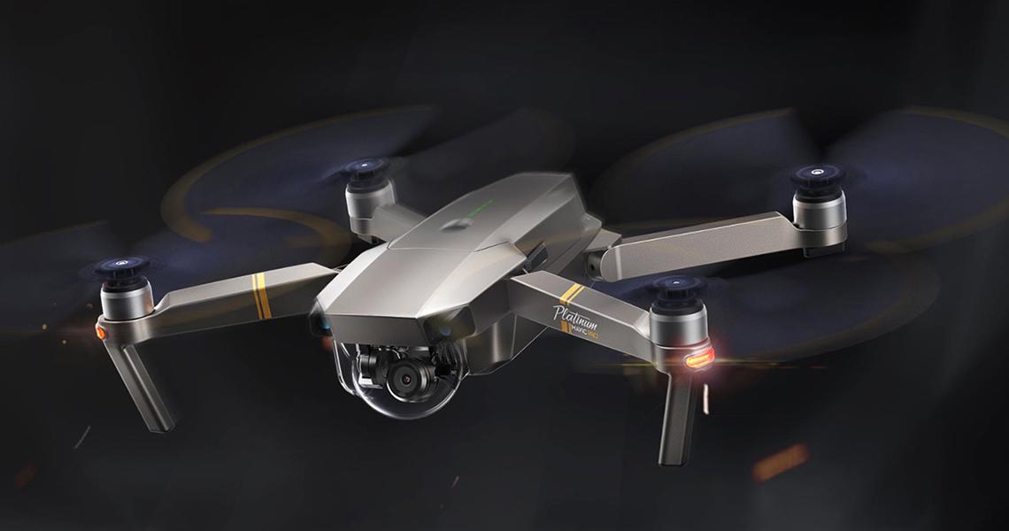 Mavic Pro Platinum. Революция персональных дронов продолжается