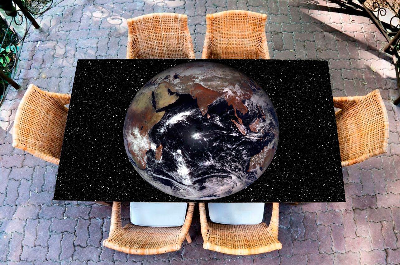 Наклейка на стол - Земля | магазин Интерьерные наклейки