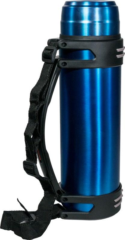 Термос Steel Drink 2 литра для напитков - боковая ручка и ремешок