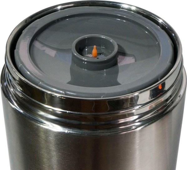 Термос Steel Food S 1,8 литра с тремя судочками для еды - широкое горло