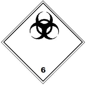 Класс опасности 6.2 инфекционные вещества