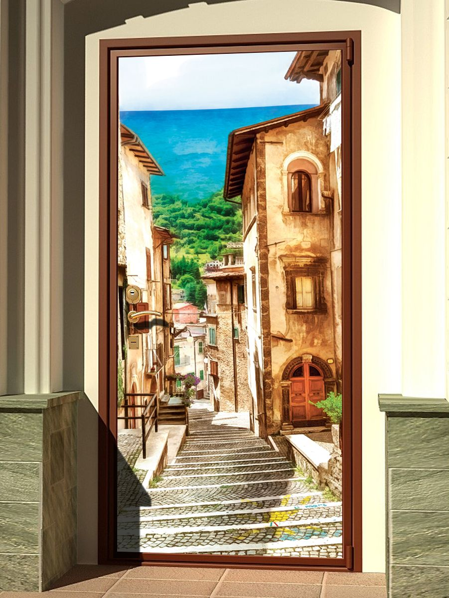 Door sticker - Neapolitan by X-Decor