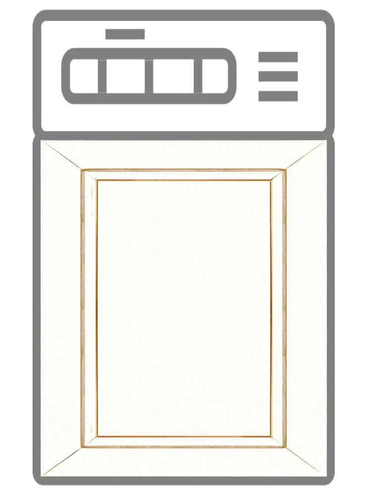 Наклейка на посудомоечную машину — Строгий