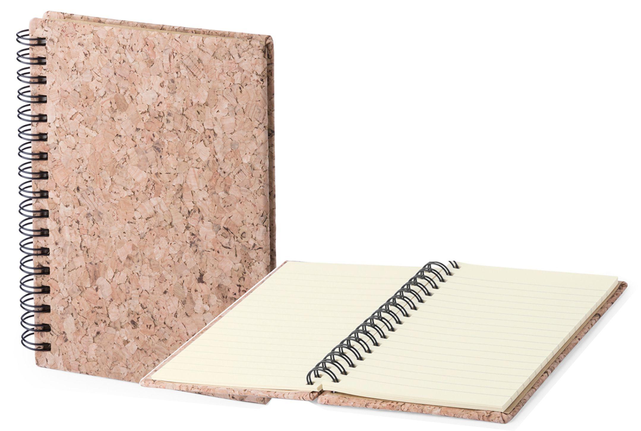 эко блокноты из пробкового материала