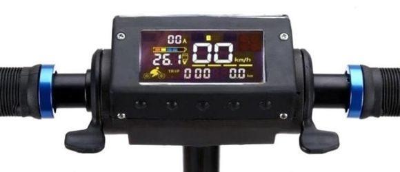 электросамокат zaxboard es8 дисплей
