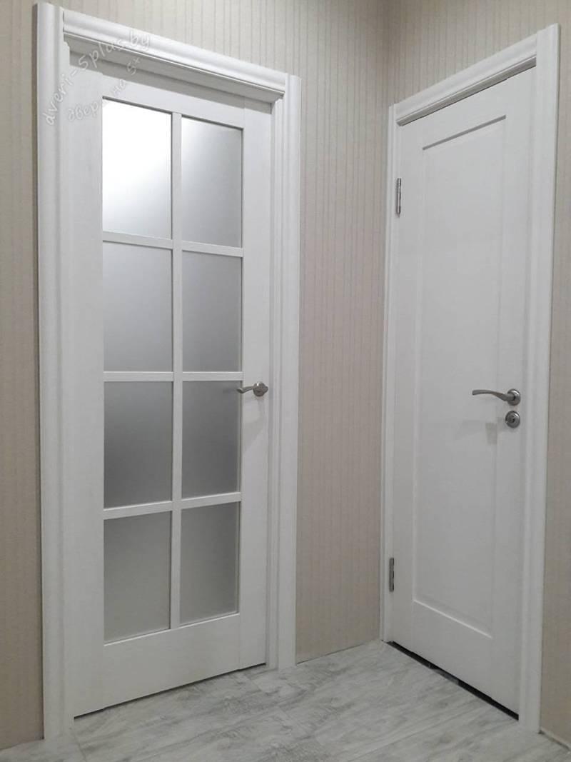 двустворчатая дверь 101u гостинная