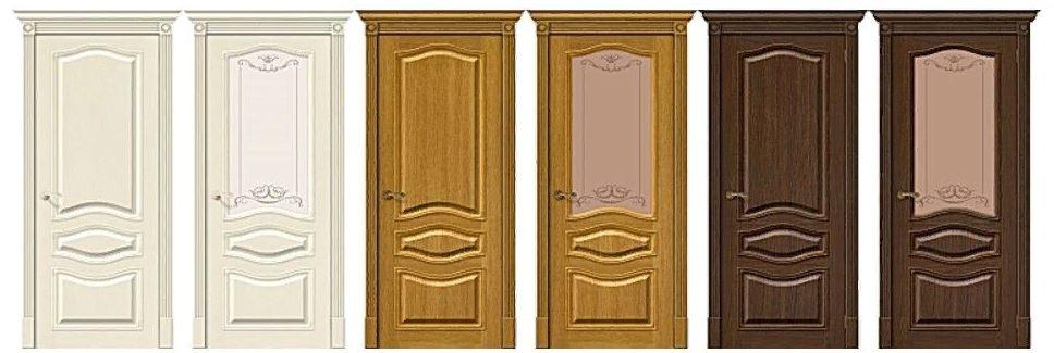 шпонированные двери Браво Пермь