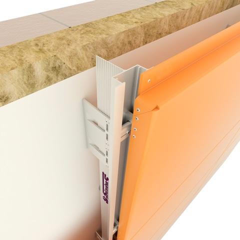 Вентилируемые фасады из композитных панелей с шагом кронштейнов 1300 мм