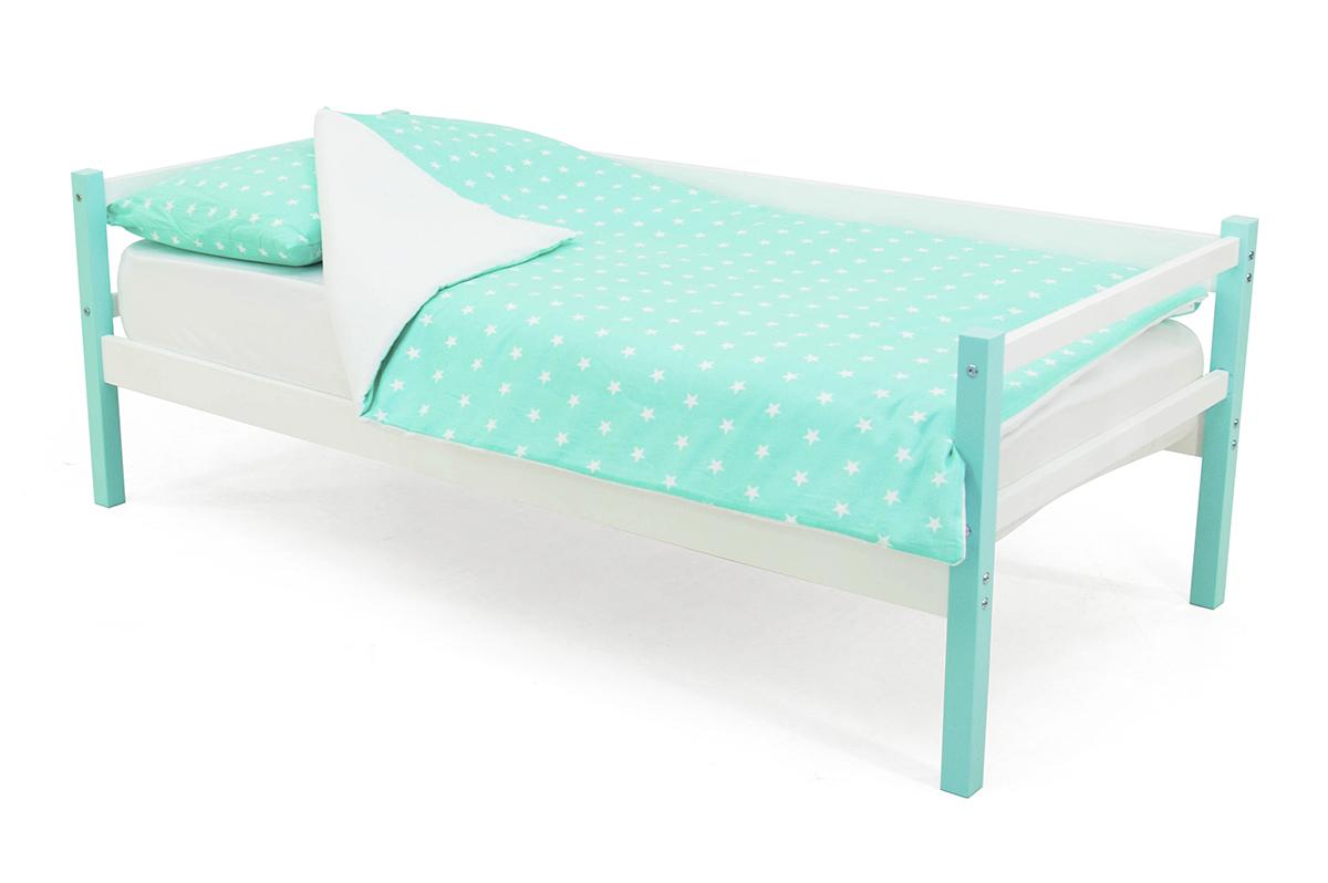 кровать-тахта мятно-белый