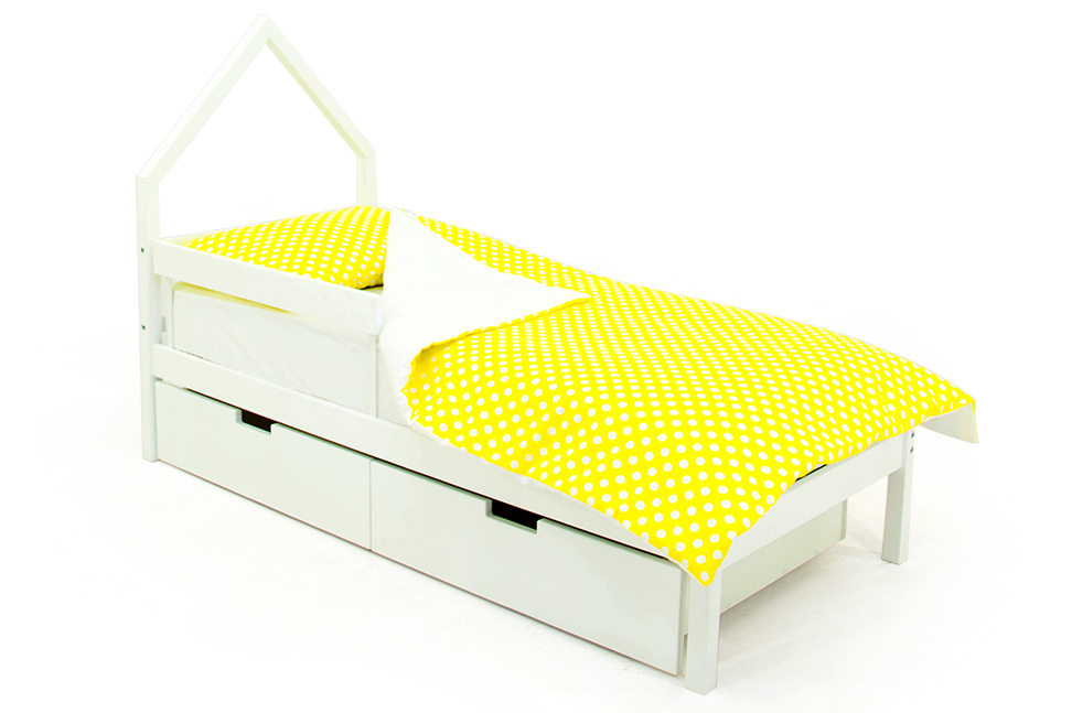 детская кровать белый