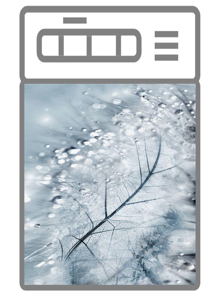 Наклейка на посудомоечную машину - Хрусталь