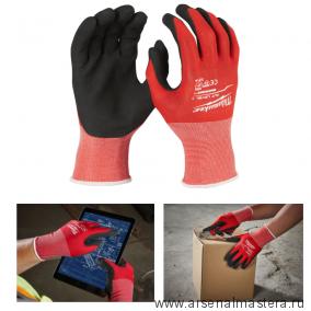 Перчатки Milwaukee с защитой от порезов уровень 1 размер XXL / 11 4932471419