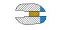 Схема «Гладкие фланцы»