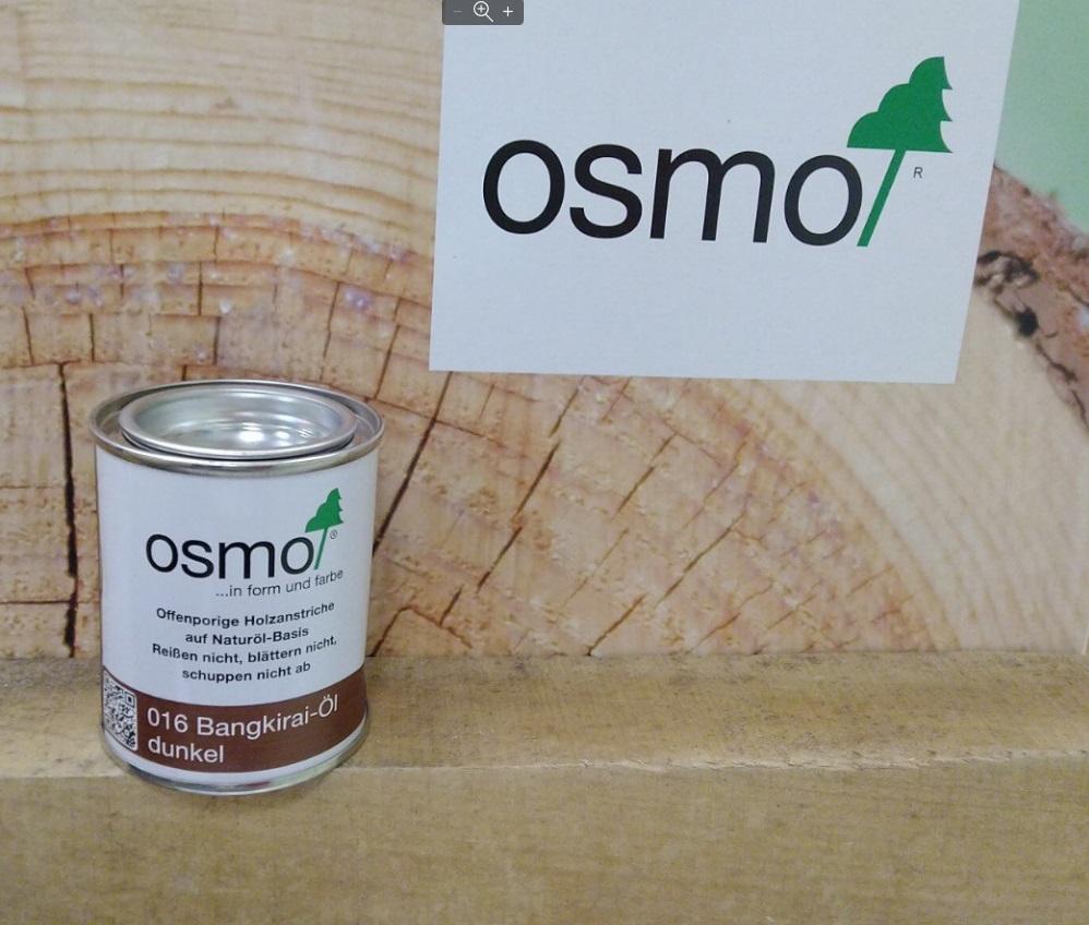 Масло для террас Osmo 016 Terrassen-Öle для бангкирай темное