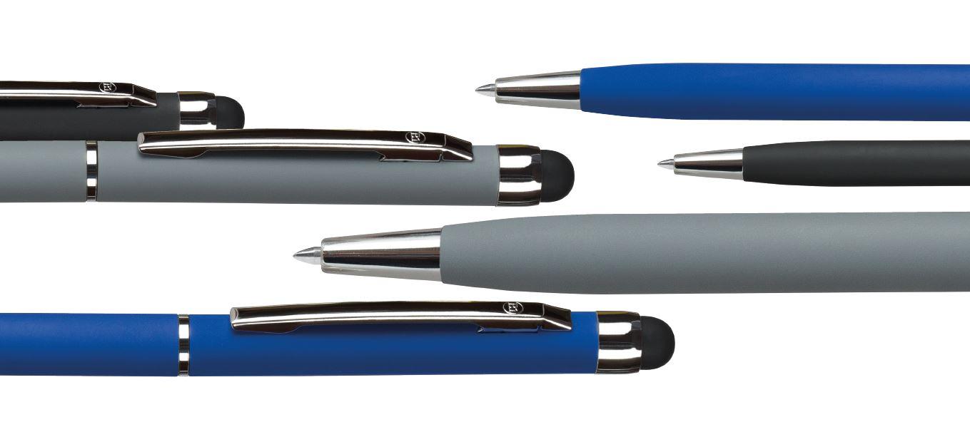 металлические ручки с софт тач покрытием