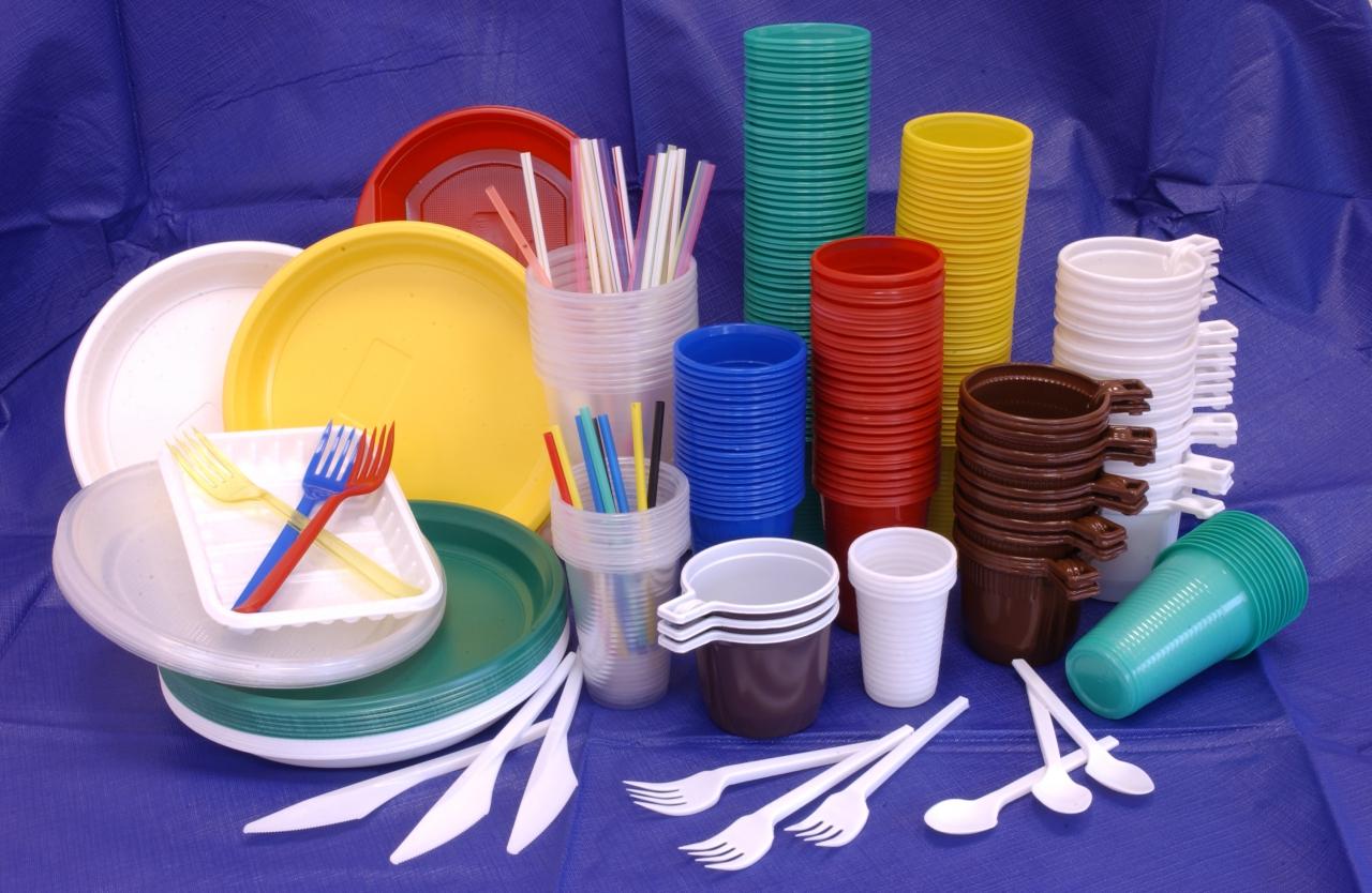 посуда пластик
