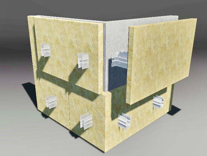 Фасадные работы - утепление фасада