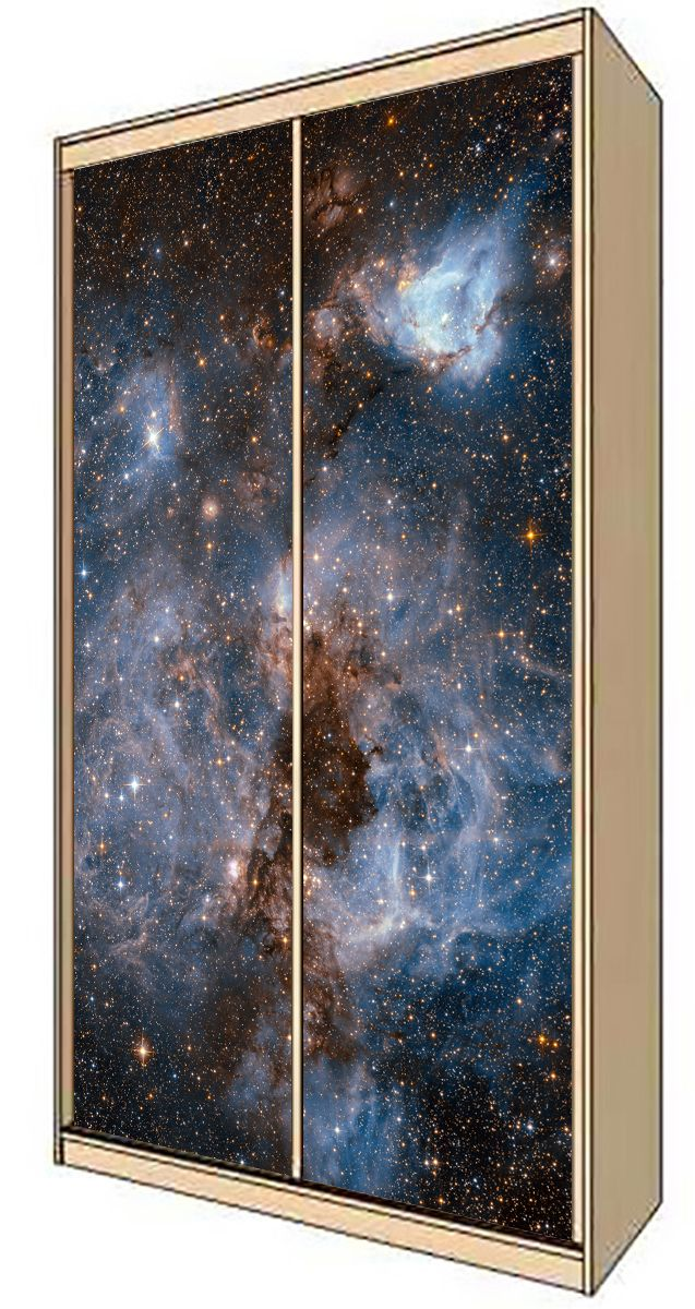 Wardrobe Stickers - Deep Space by X-Decor