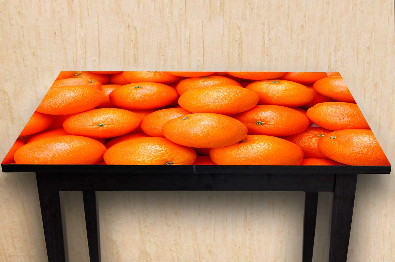 Stickers a Table - Orange | Buy Table Decals in x-decor.com