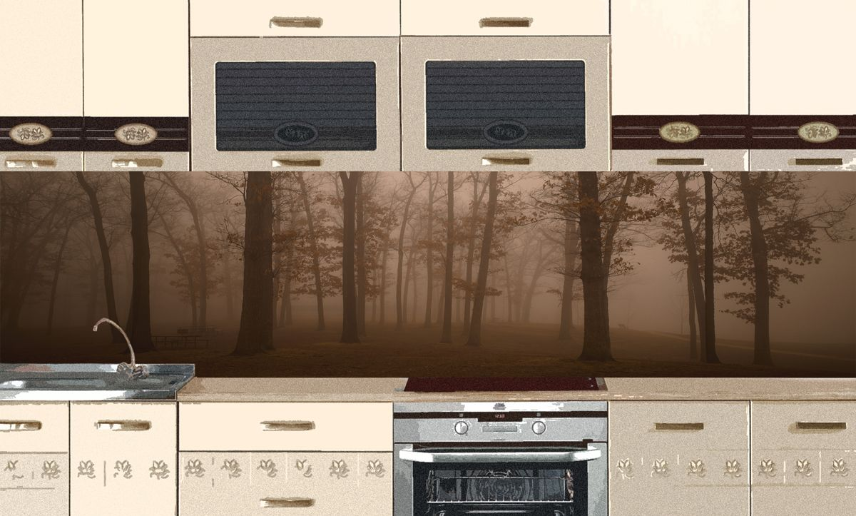 Kitchen Backsplash - And the evening came