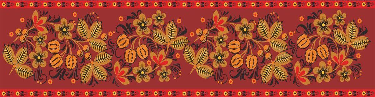 Фартук кухни - Цветочный мотив 1 купить в магазине Интерьерные наклейки