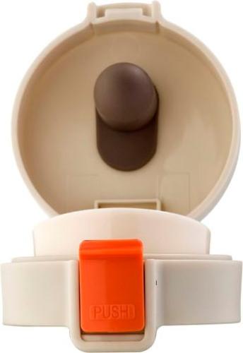 Термостакан Biostal Crosstown 400 мл с поилкой - крышка с силиконовым уплотнителем