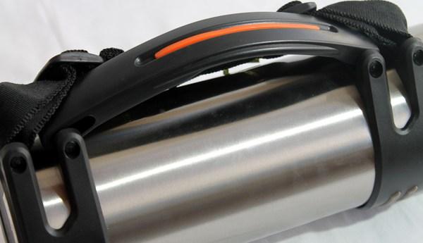 Термос Steel 2 литра для напитков - боковая ручка и ремешок
