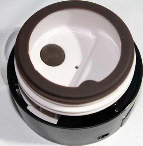 Термокружка Graphic Design с поилкой 480 мл - крышка с силиконом