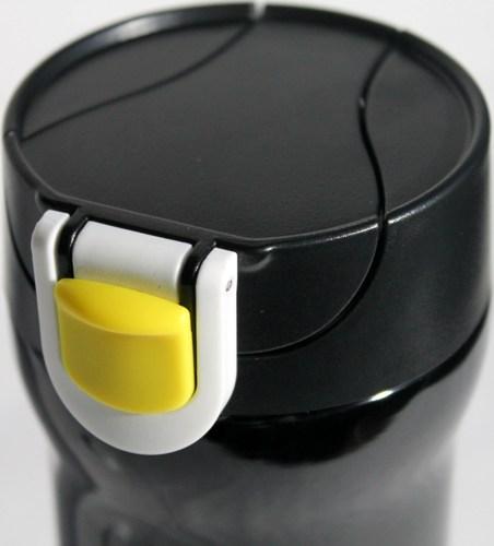 Термокружка Graphic Design с поилкой 480 мл - крышка с кнопкой